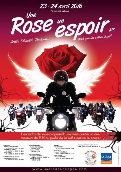 affiche une rose un espoir 2016