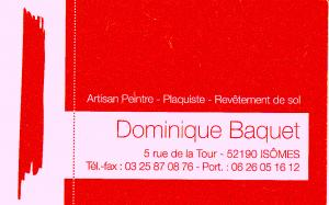 Dominique bacquet new