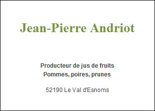 Jean pierre andriot